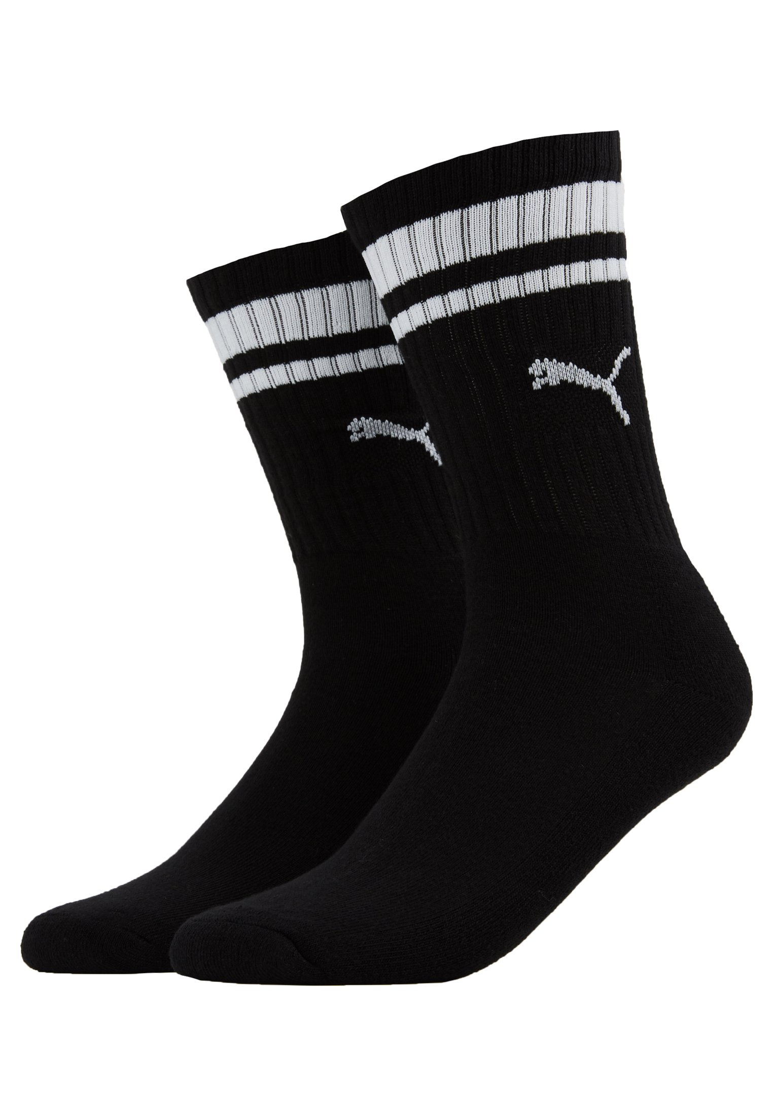 Stripe PackChaussettes Puma Crew Heritage Black 29IHED