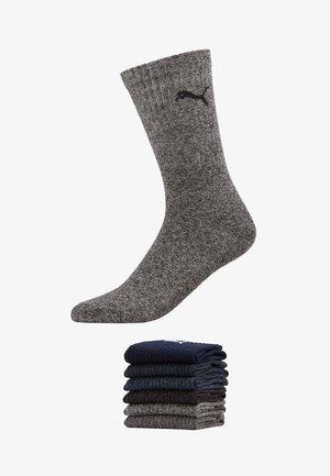 PUMA SPORT CREW LIGHTWEIGHT 6P - Chaussettes de sport - anthracite / grey