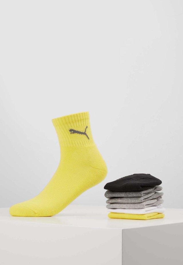 SHORT CREW UNISEX 6 PACK - Skarpety sportowe - yellow