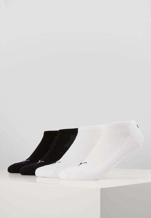 PUMA CUSHIONED SNEAKER 4P UNISEX - Chaussettes de sport - black
