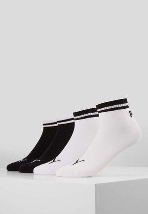 PUMA HERITAGE QUARTER 4P - Chaussettes de sport - black