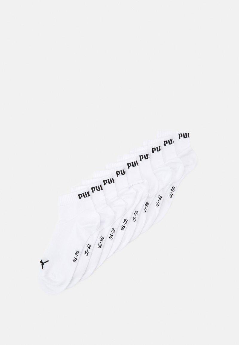 Puma - UNISEX QUARTER PLAIN 9 PACK - Calcetines de deporte - white