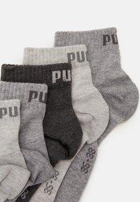 Puma - UNISEX QUARTER PLAIN 9 PACK - Calcetines de deporte - grey combo - 1