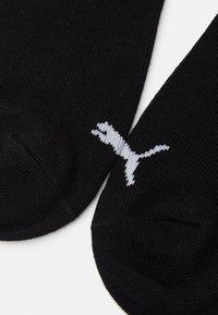 Puma - UNISEX SNEAKER PLAIN 9 PACK - Calcetines tobilleros - black - 1