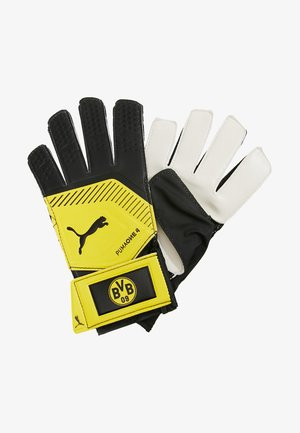 BVB BORUSSIA DORTMUND ONE GRIP  - Goalkeeping gloves - black/yellow