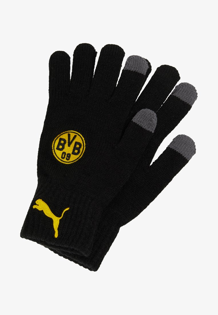 Puma - BVB BORUSSIA DORTMUND GLOVES - Gants - black