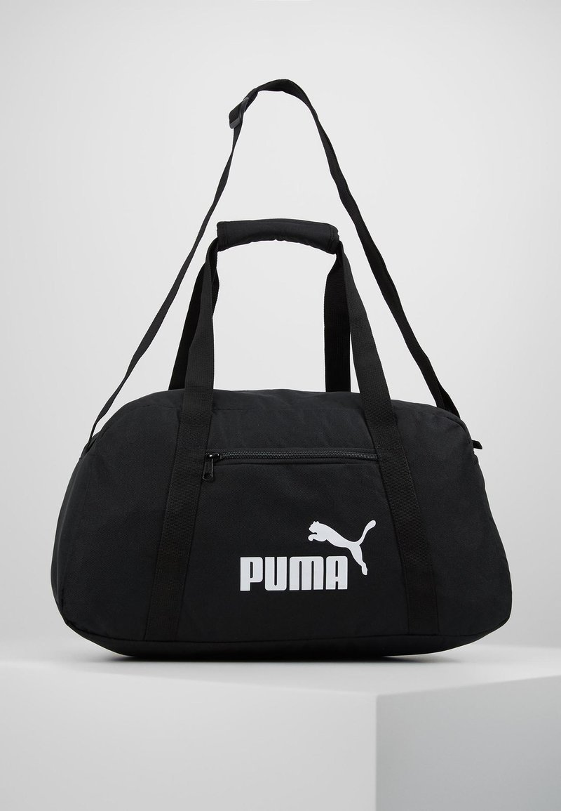 Puma - PHASE SPORTS BAG - Sportväska - black