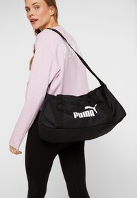 Puma - PHASE SPORTS BAG - Sportväska - black - 5