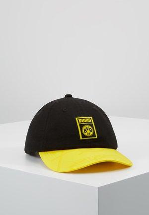 BVB BORUSSIA DORTMUND - Gorra - black/cyber yellow