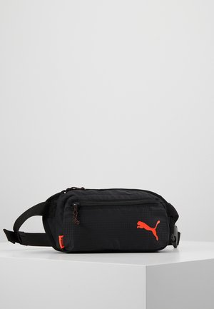 WAISTBAG - Ledvinka - black/energy red