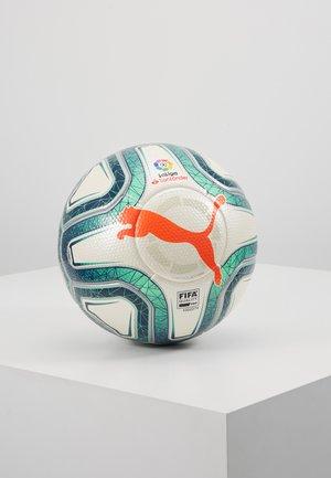 LA LIGA 1 - Balón de fútbol - white/gibraltar sea/red