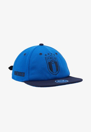 ITALIEN FIGC FLATBRIM - Cap - team power blue/peacoat