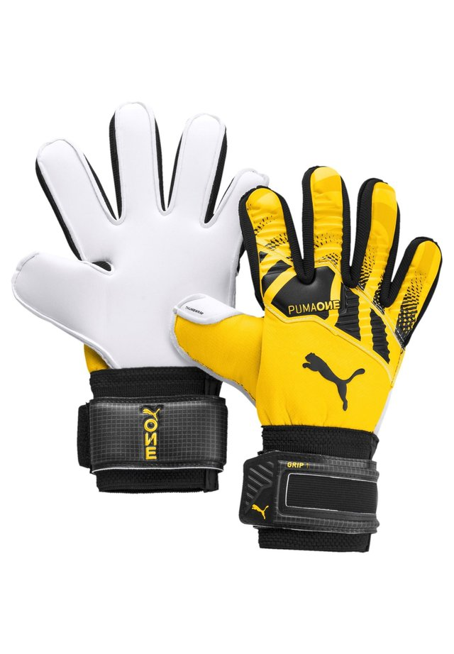 Gloves - ultra yellow / puma black / puma white