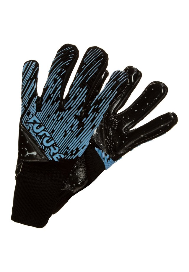 Gants de gardien de but - turquoise, black
