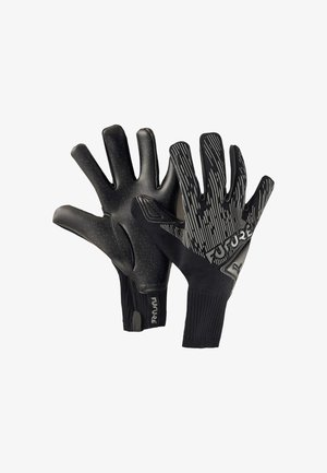 Goalkeeping gloves - puma black-asphalt-white