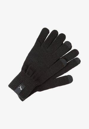 GLOVES - Fingervantar - black