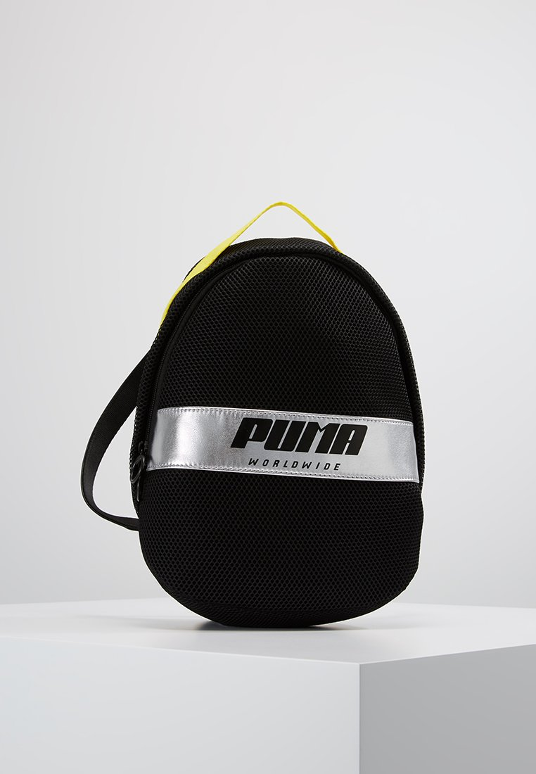 Puma - PRIME STREET ARCHIVE BACKPACK - Rugzak - black/blazing yellow