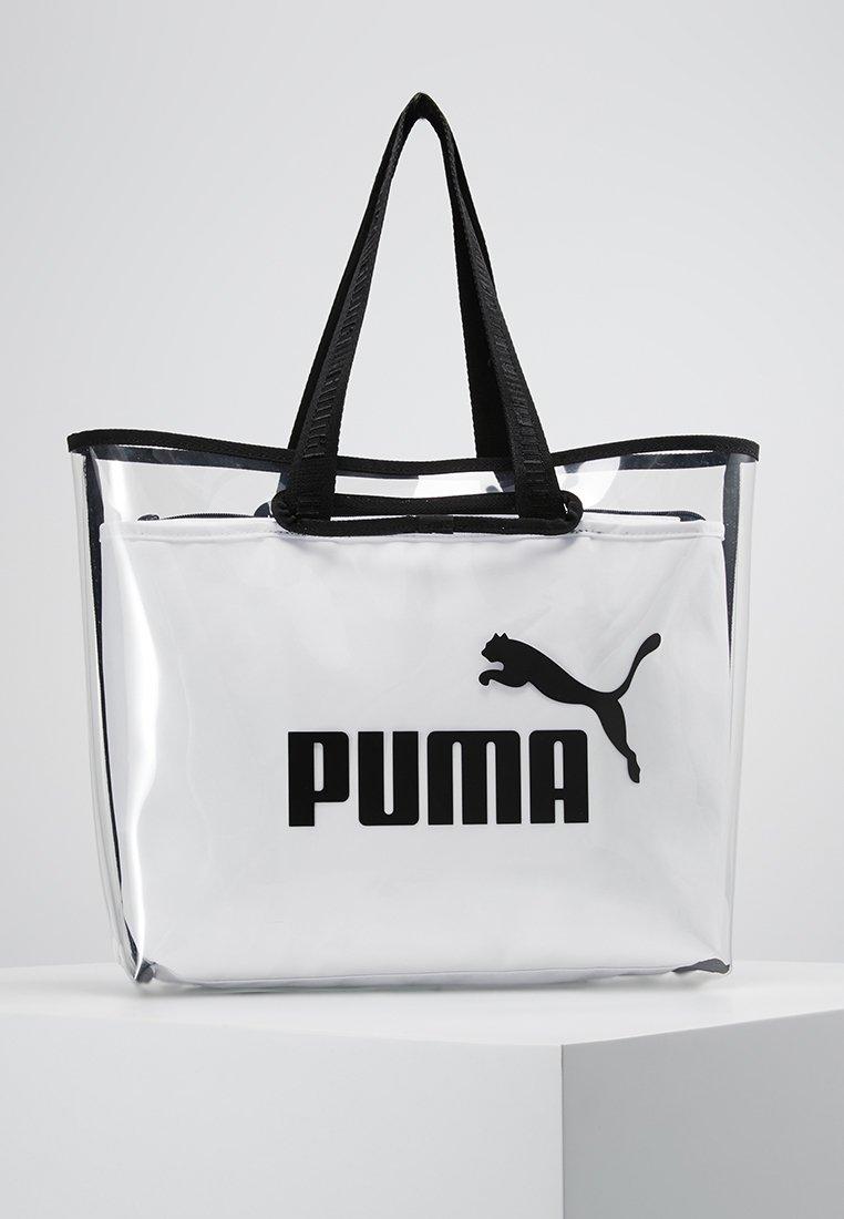 Puma - CORE TWIN SHOPPER - Tote bag - white