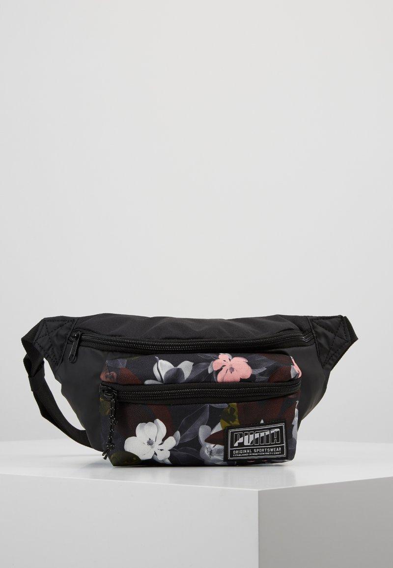 Puma - ACADEMY WAIST BAG - Bum bag - black