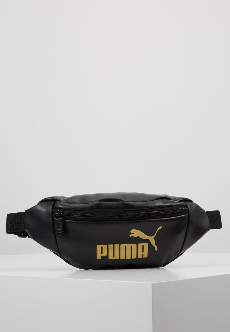Puma - CORE UP WAISTBAG - Riñonera - black/gold