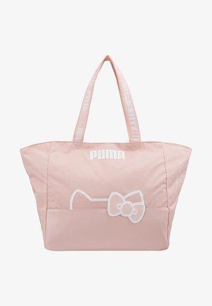 PUMA X HELLO LARGE SHOPPER - Shopping bags - pink dogwood