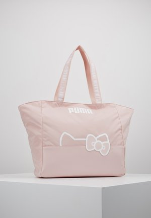 PUMA X HELLO LARGE SHOPPER - Shopping bags - pink dogwood