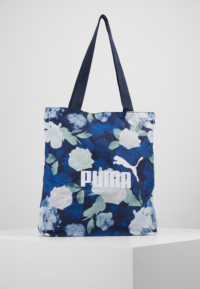 Shopping bag - peacoat
