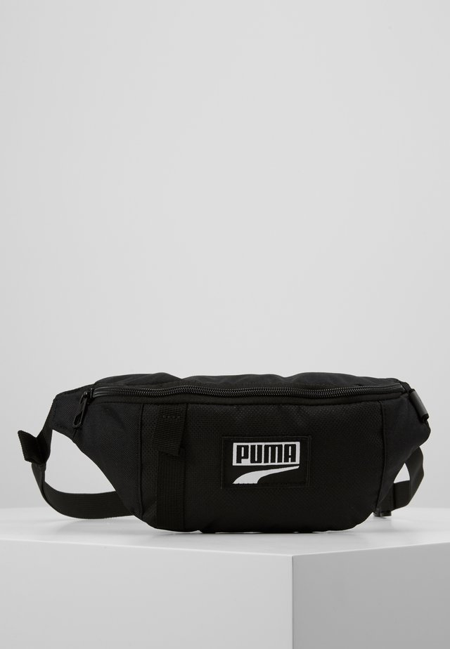 DECK WAIST BAG - Vyölaukku - black