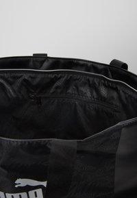 Puma - CORE UP LARGE  - Shopping bag - black - 4