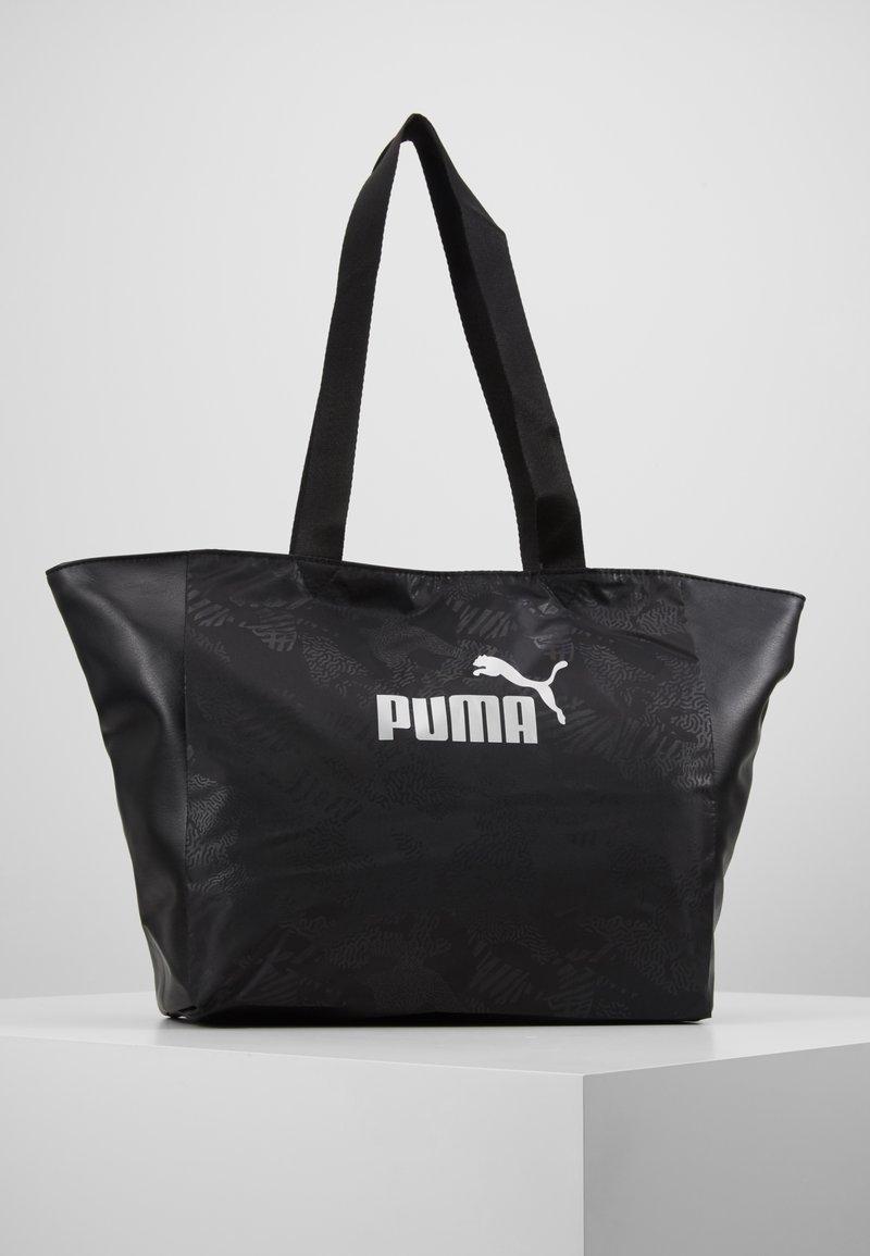 Puma - CORE UP LARGE  - Shopping bag - black