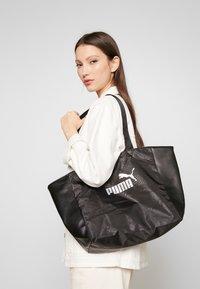 Puma - CORE UP LARGE  - Shopping bag - black - 1