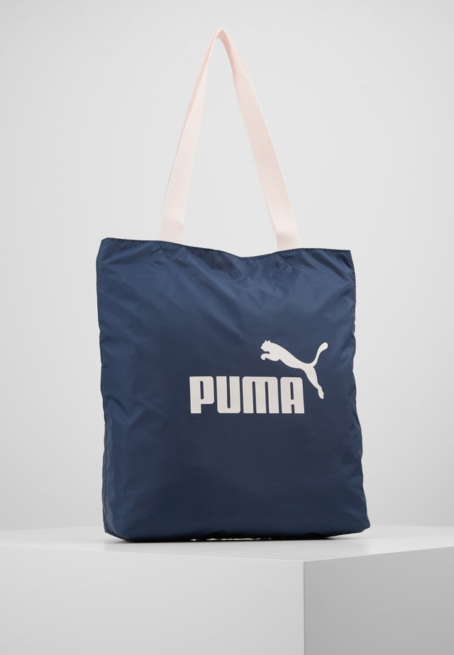 SHOPPER TONAL - Shopping bag - dark denim/rosewater