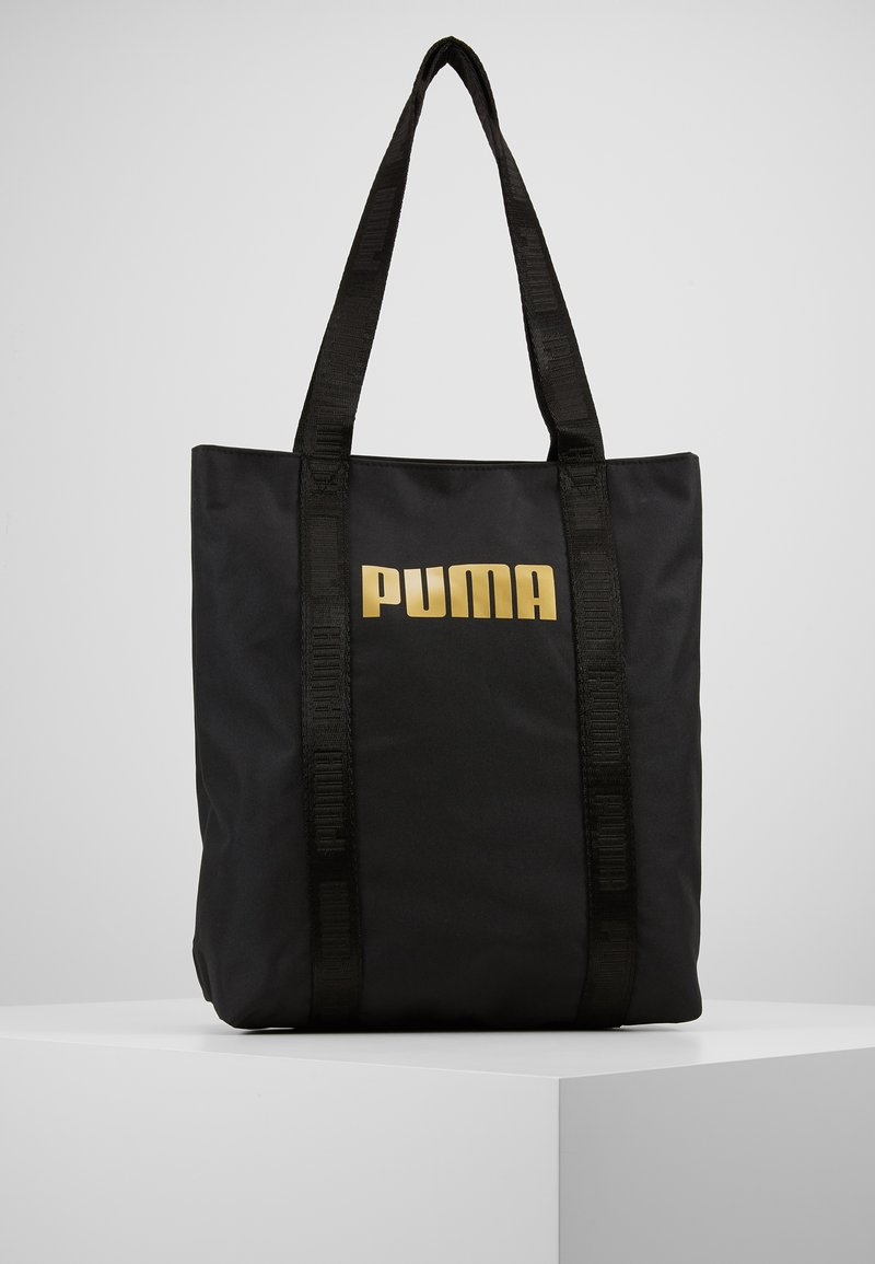Puma - CORE BASE SHOPPER - Shopping Bag - black