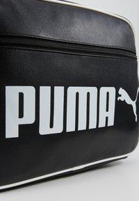 Puma - CAMPUS REPORTER RETRO - Umhängetasche - puma black - 6
