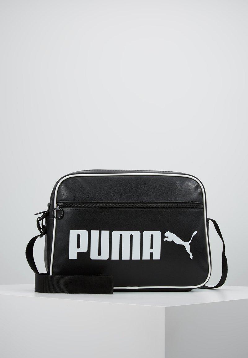 Puma - CAMPUS REPORTER RETRO - Umhängetasche - puma black