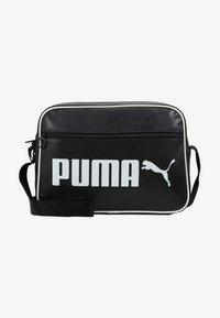 Puma - CAMPUS REPORTER RETRO - Umhängetasche - puma black - 5