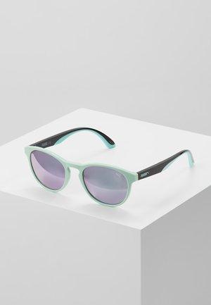 Sonnenbrille - green/black/pink