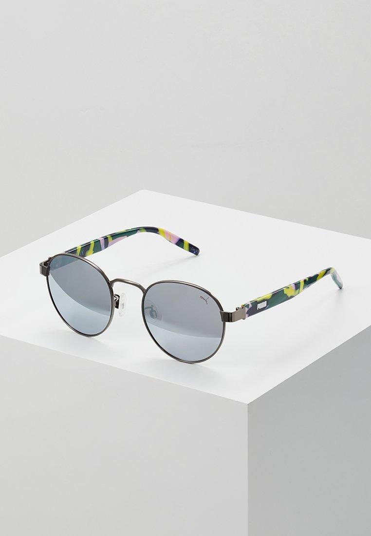 Puma - Lunettes de soleil - havana/silver-coloured
