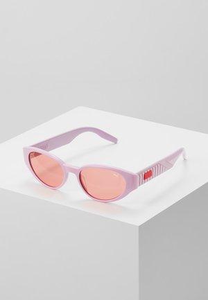 Sonnenbrille - pink/red