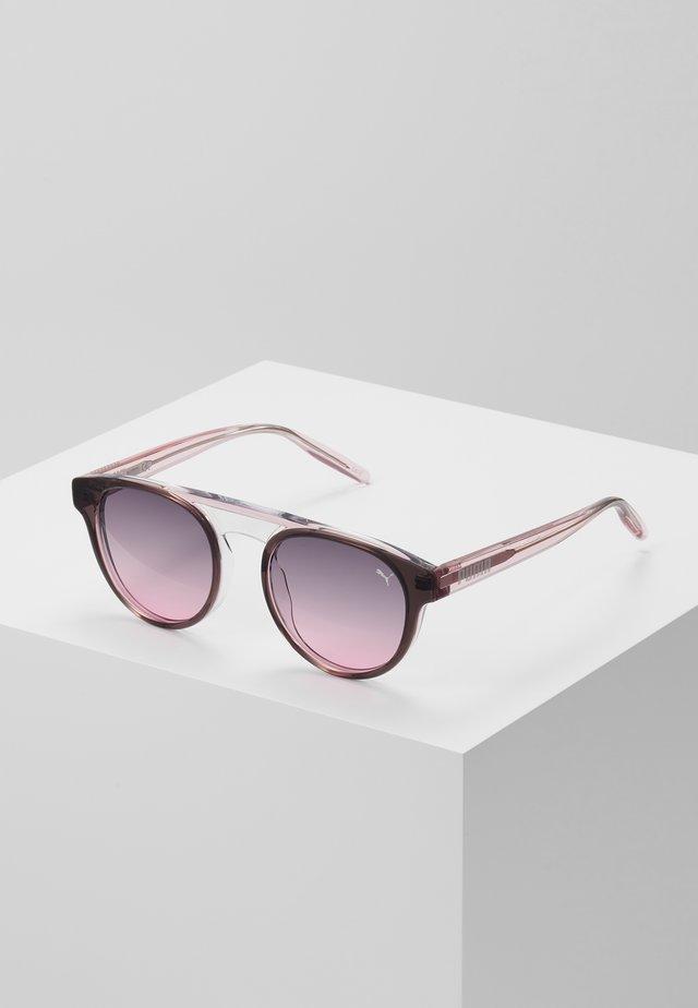 Sonnenbrille - grey/pink