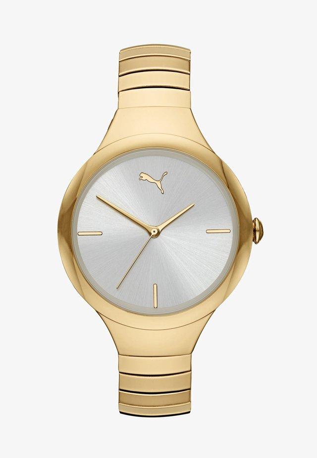 CONTOUR - Klocka - gold-coloured