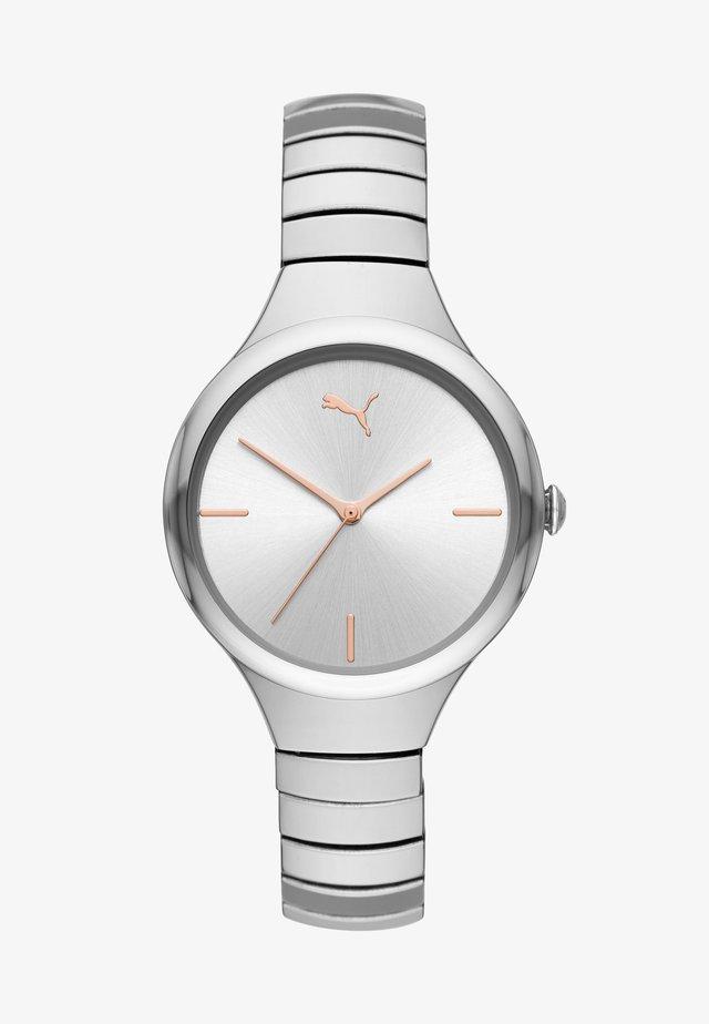 CONTOUR - Klocka - silver-coloured