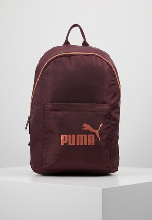 CORE SEASONAL BACKPACK - Mochila - vineyard wine/rose gold