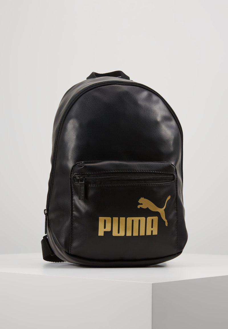 Puma - CORE UP ARCHIVE BACKPACK - Tagesrucksack - black/gold