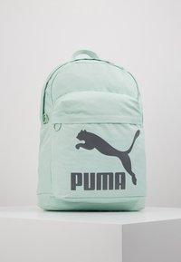Puma - ORIGINALS BACKPACK - Reppu - mist green/castlerock - 0