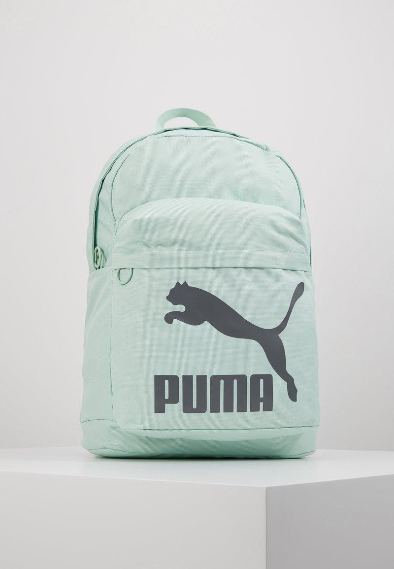 Puma - ORIGINALS BACKPACK - Reppu - mist green/castlerock