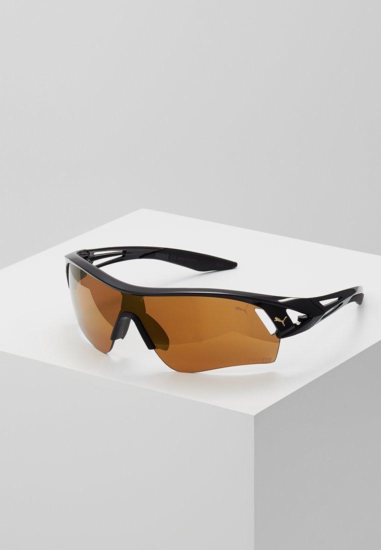 Puma - Sunglasses - black/gold-coloured