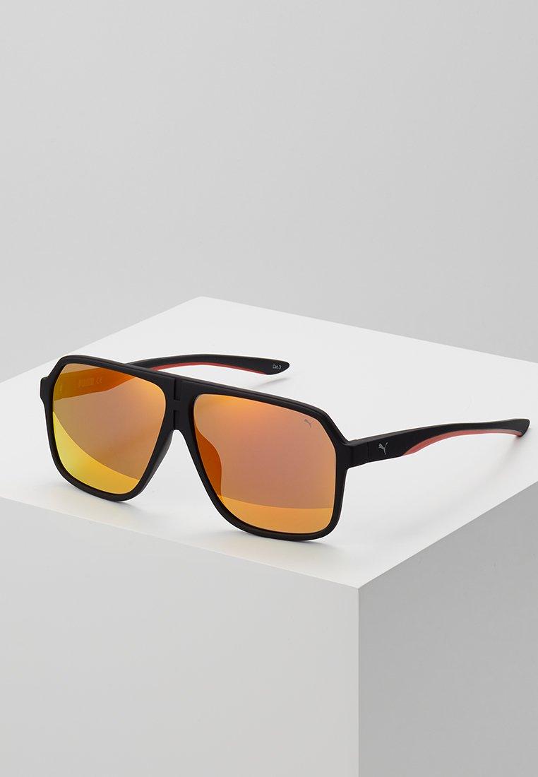 Puma - Gafas de sol - black/orange