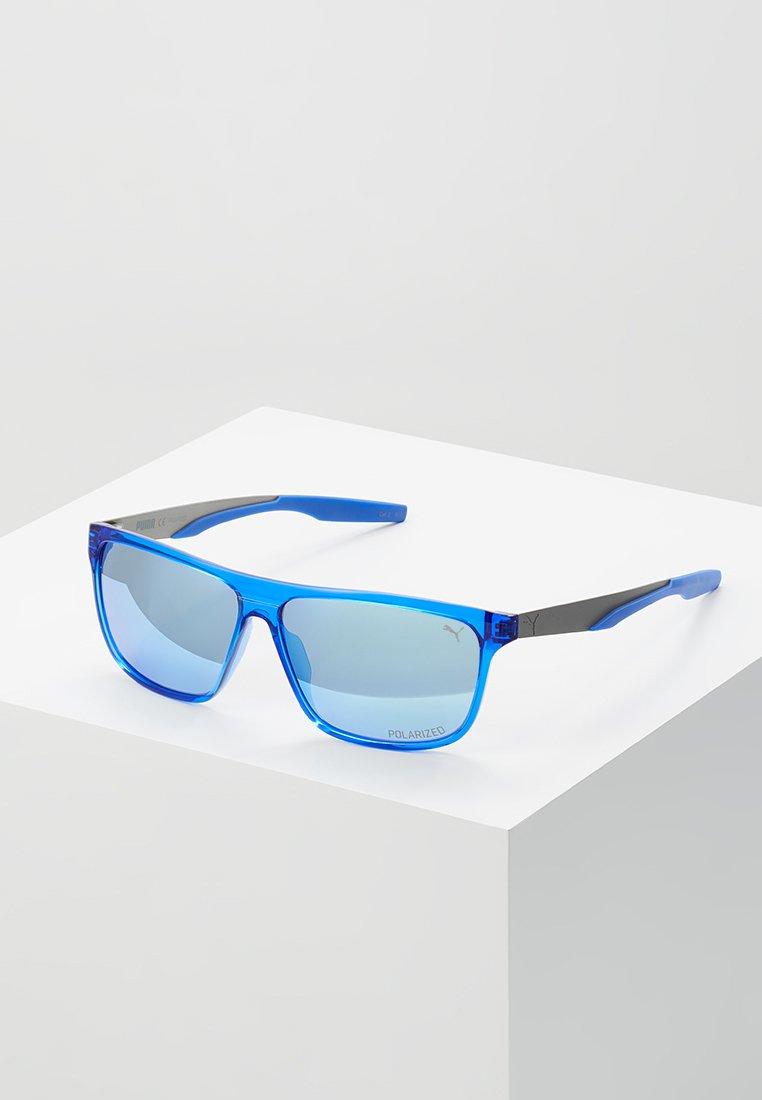 Puma - Sunglasses - blue/ruthenium