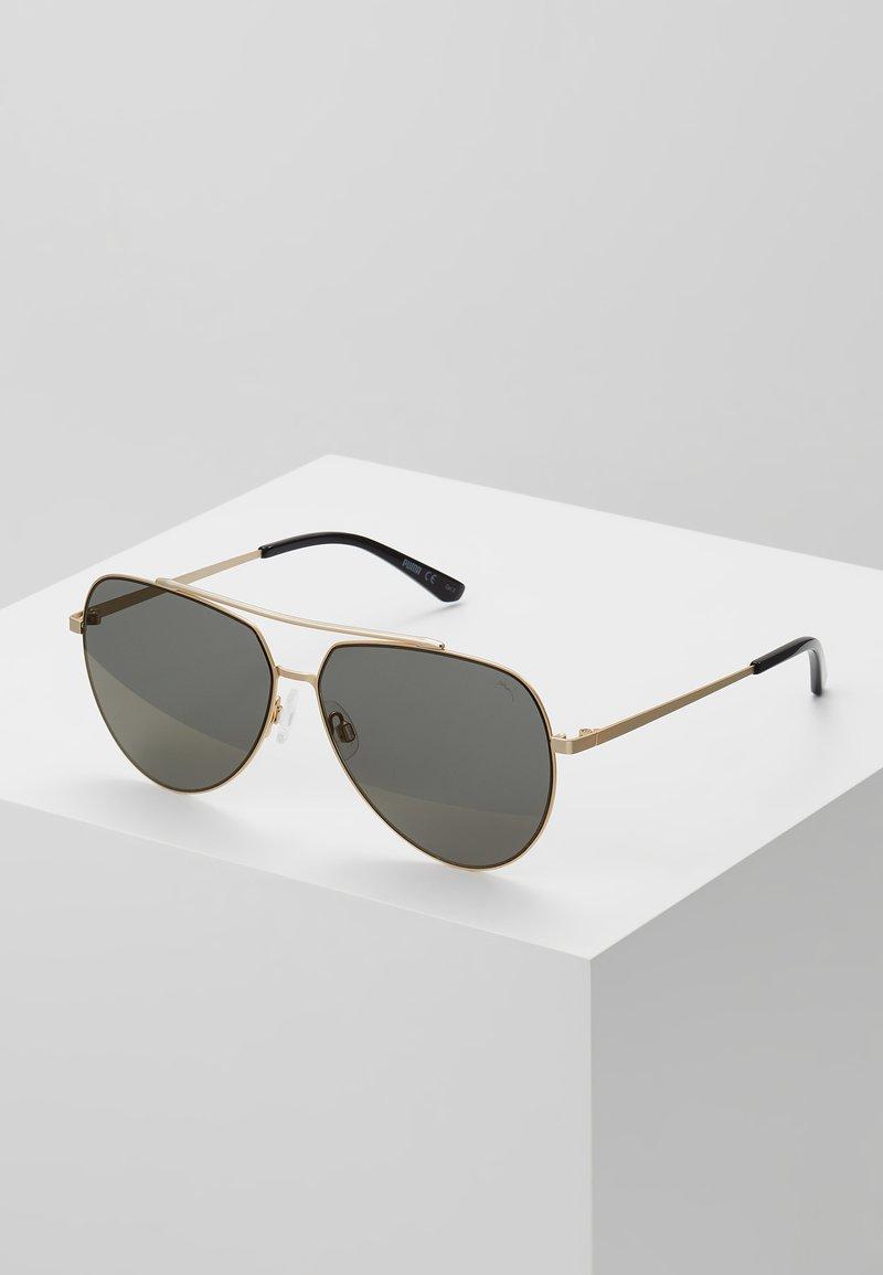 Puma - Sluneční brýle - gold-coloured/bronze